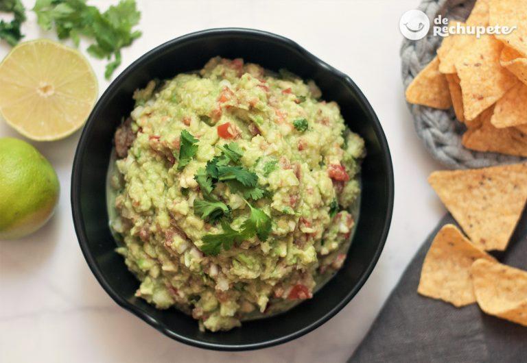 Cómo hacer guacamole mexicano fácil