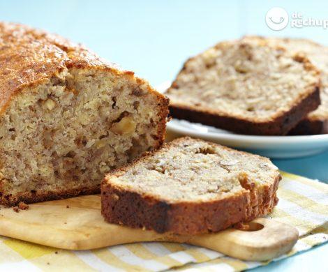 Pan de plátano. Banana Bread