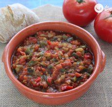 Pisto de verduras casero