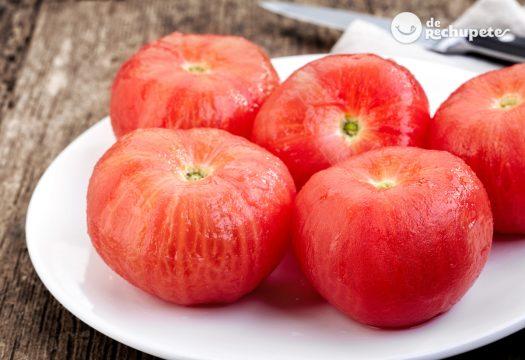 Cómo pelar tomates fácilmente
