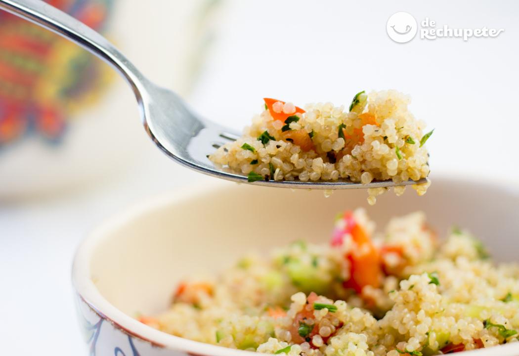 Quinoa Qué Es Y Cómo Hacerla Correctamente Recetas De Rechupete Recetas De Cocina Caseras Y Fáciles