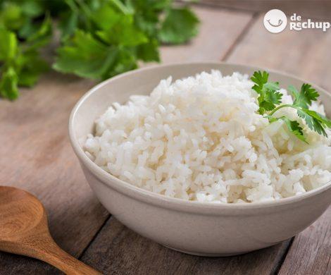 Cómo hacer un arroz blanco perfecto
