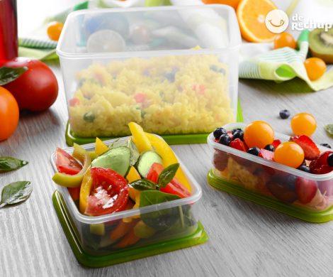 Recetas y alimentos para la vuelta al cole o al trabajo