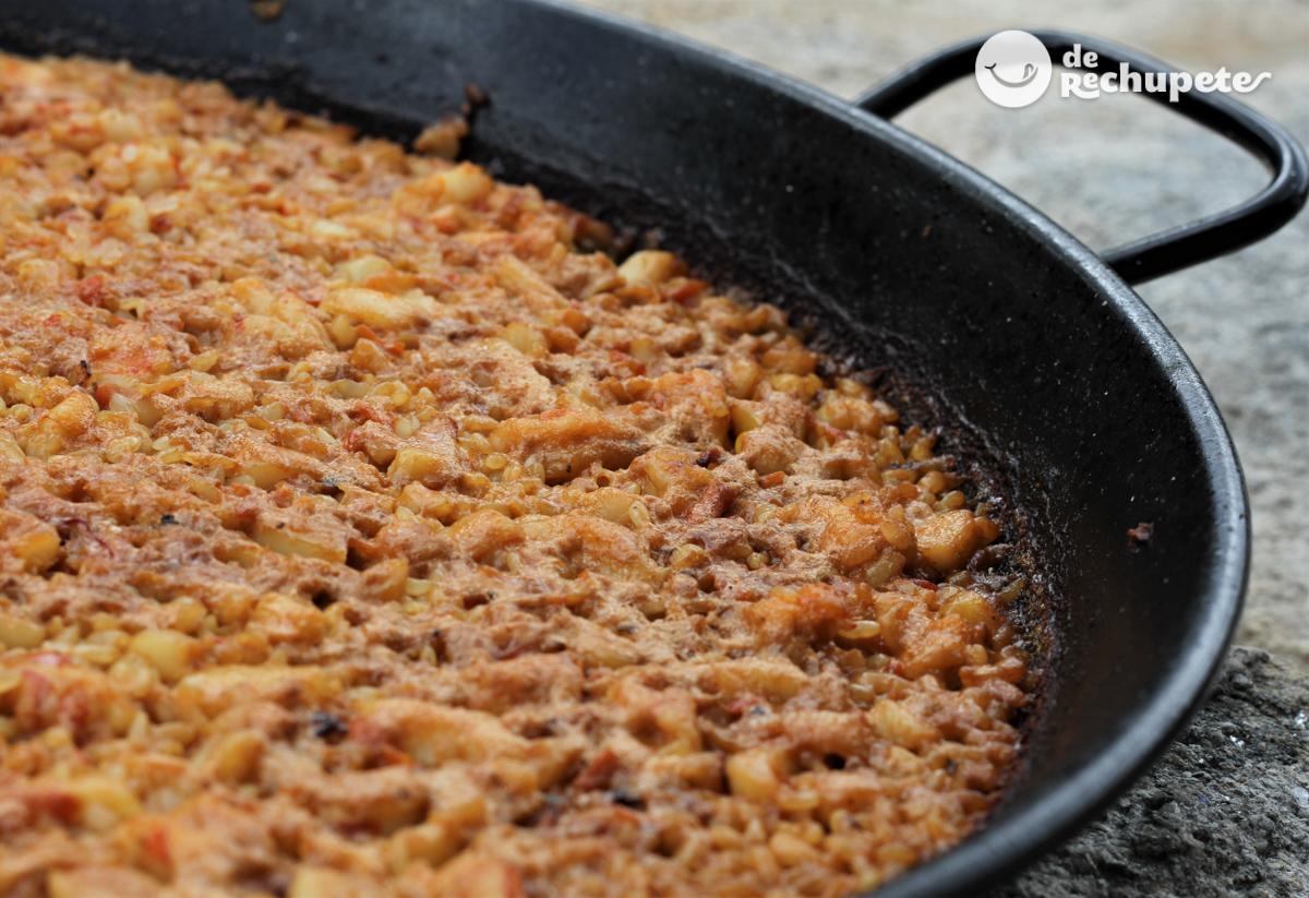 Receta para hacer chopo con arroz
