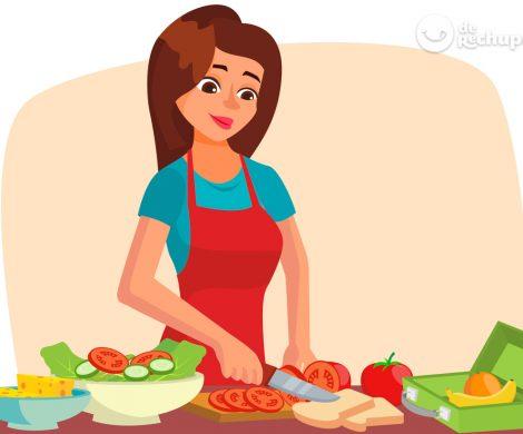 Consejos para preparar cenas rápidas y saludables. Plantilla de menú gratuita