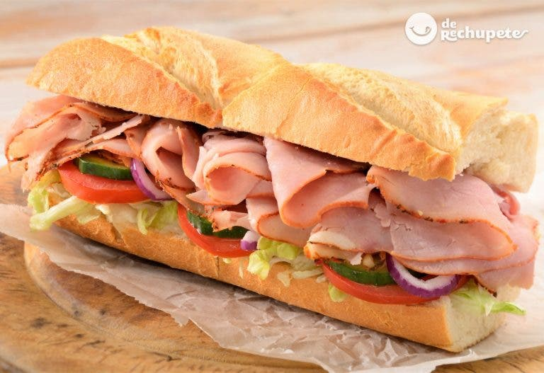 Sándwich submarino italiano