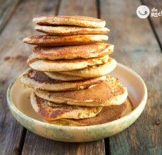 Tortitas caseras o pancakes. Receta súper fácil y deliciosa
