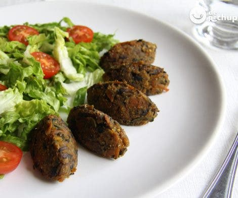 Croquetas de verduras al horno