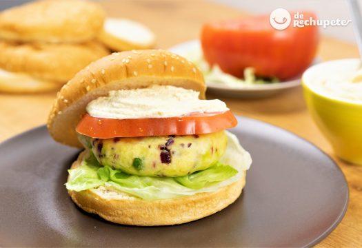 Cómo hacer hamburguesas vegetarianas