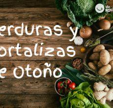 Verduras y hortalizas de Otoño