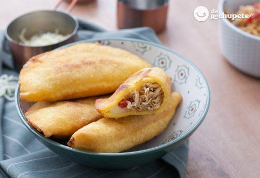 Empanadas venezolanas de pollo y queso