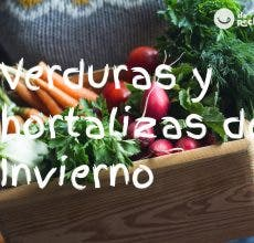 Verduras y hortalizas de invierno