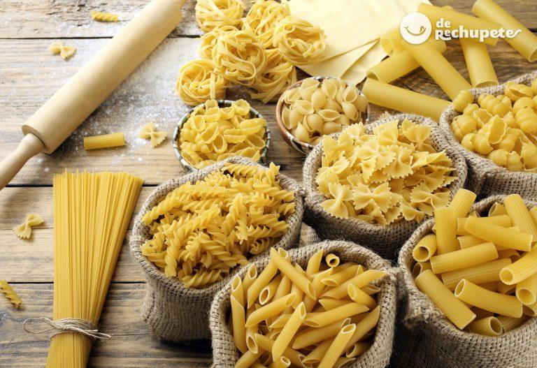 Pasta italiana. Tipos y cómo cocinarla