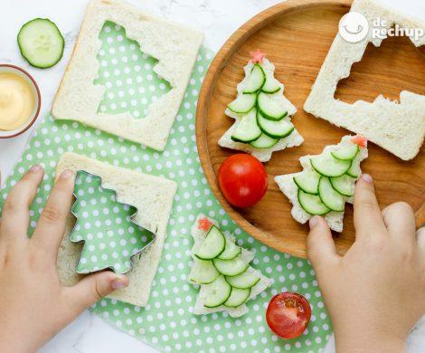 Aperitivos navideños para niños