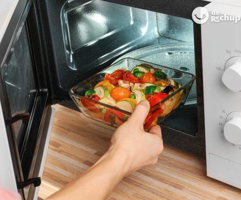 Cómo cocinar verduras al microondas