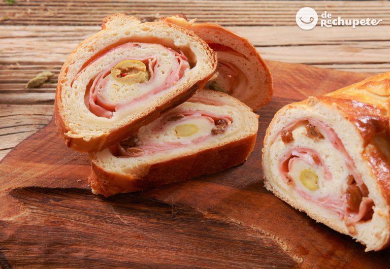 Pan de jamón casero