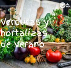 Verduras y hortalizas de Verano