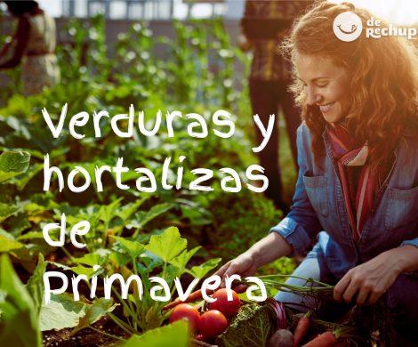 Verduras y hortalizas de Primavera