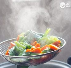 Cocinar al vapor. Ventajas, trucos y consejos.