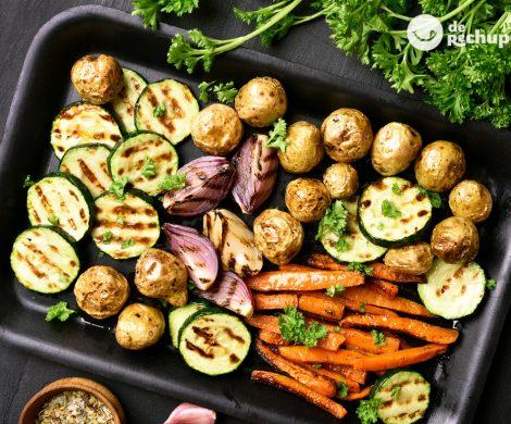Cómo hacer verduras asadas o al horno. Consejos para que queden perfectas