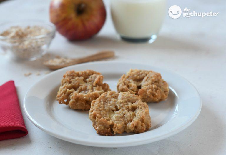 Galletas de avena y manzana