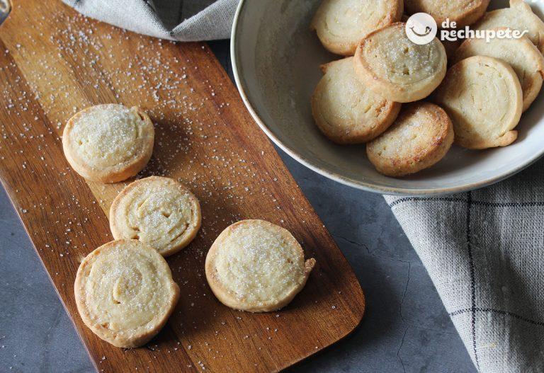 Galletas de queso y vainilla