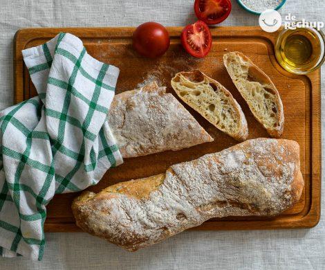 Cómo hacer pan chapata fácil y sin amasado