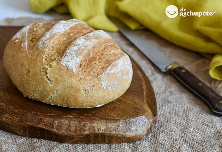 Pan de trigo fácil estilo rústico