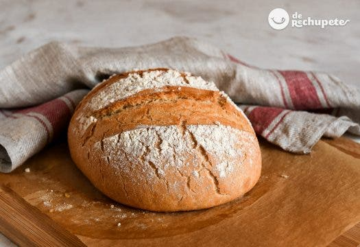 Pan fácil y rápido sin levados con harina común