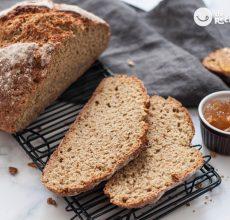 Pan irlandés. El pan más rápido y fácil