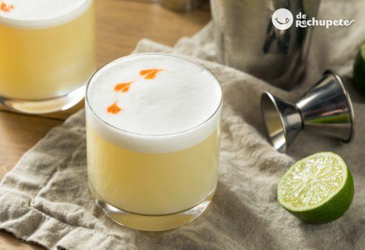 Pisco Sour. Cóctel peruano