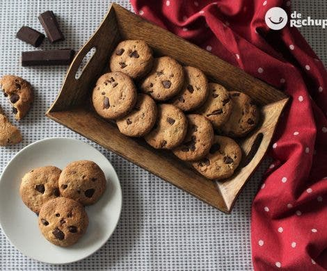 Galletas de chocolate crujientes