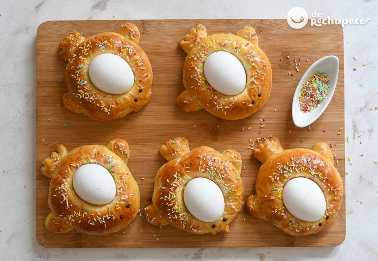 Monas de Pascua en forma de animalitos