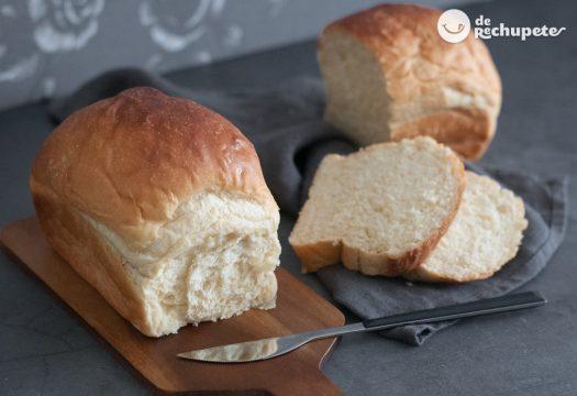 Pan de leche japonés