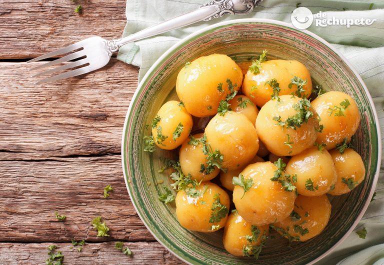 Cómo hacer patatas al microondas en 10 minutos