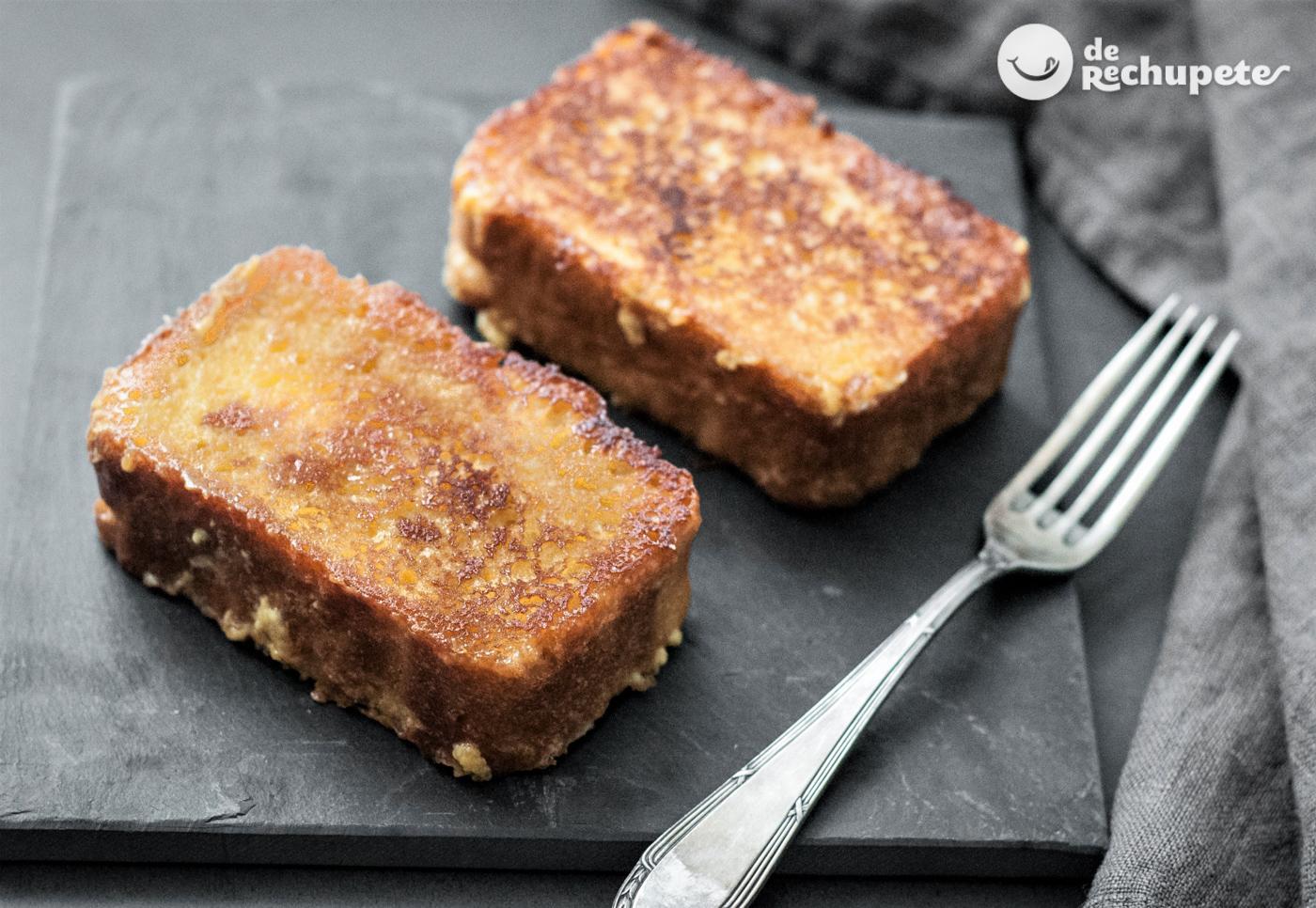 como hacer torrijas pan de molde