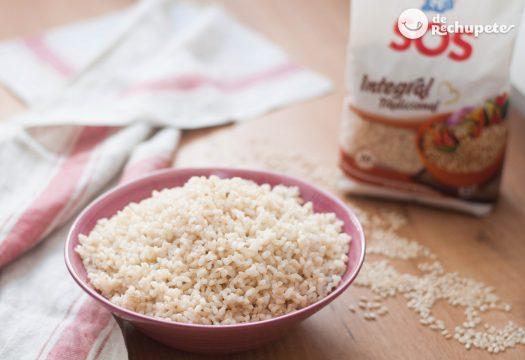 Cómo hacer y cocer arroz integral