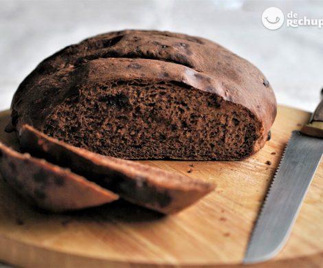 Pan casero con chocolate