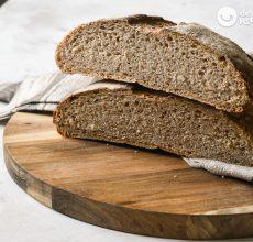 Pan de espelta con masa madre