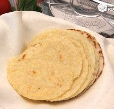 Tortillas de maíz para tacos y nachos