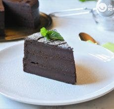 Tarta de remolacha con chocolate