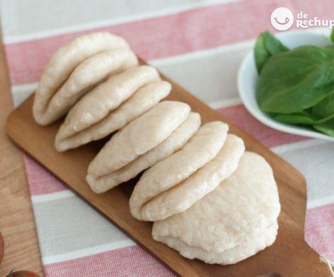 Cómo hacer pan bao casero. Receta fácil