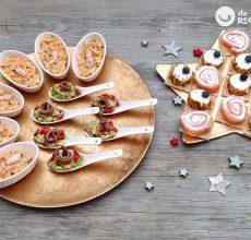 4 aperitivos navideños muy fáciles de preparar
