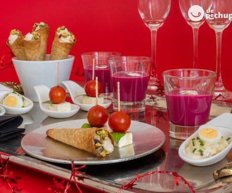 4 aperitivos vegetarianos para triunfar en Navidad