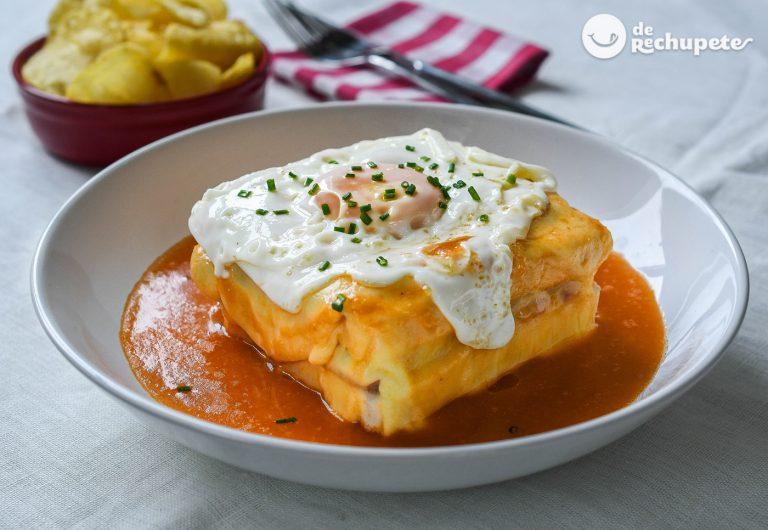 Francesinha portuguesa. El delicioso sándwich de Oporto