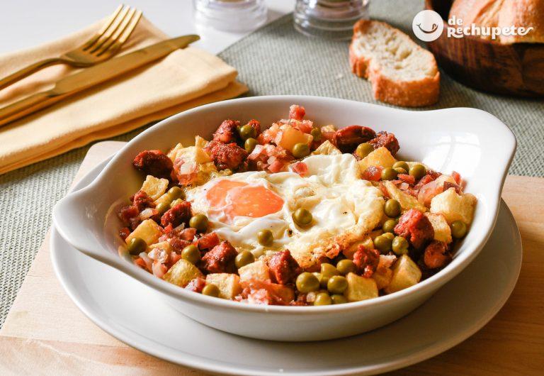 Huevos A La Flamenca Recetas De Rechupete Recetas De Cocina Caseras Y Fáciles