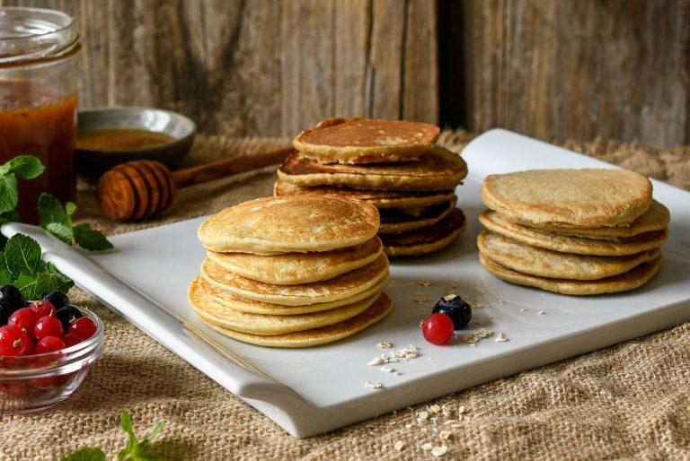 Tres deliciosas recetas para panqueques de avena
