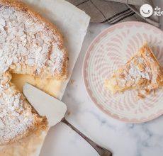 Panchineta o Pantxineta con crema pastelera. Postre vasco fácil y rico