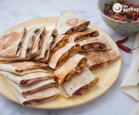 Quesadillas mexicanas. Varias recetas para triunfar