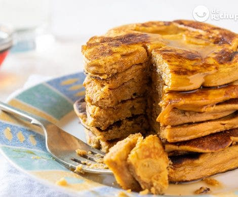 Panqueques o tortitas de boniato